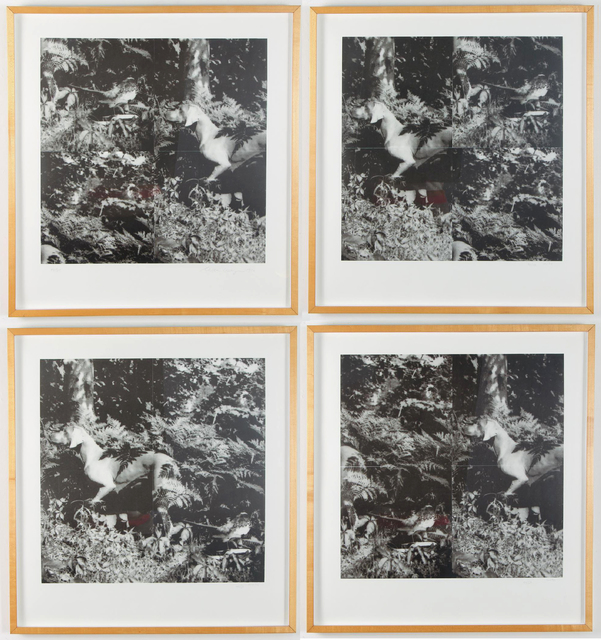 William Wegman, 'Bird Dog Suite: 4 Photolithographs ', 1990, Pascal Fine Art