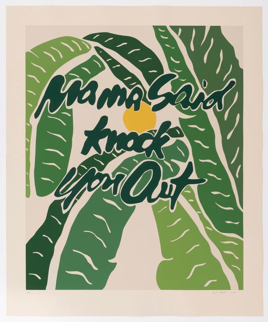 , 'Mama Said Knock You Out,' 2018, Brand X Editions