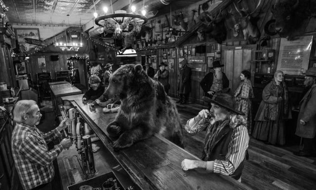 David Yarrow, 'Bear Walks Into a Bar', Visions West Contemporary