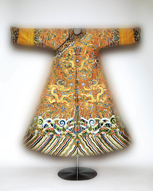 , 'Festival robe worn by Emperor Qianlong,' Second half of 18th-century, The Metropolitan Museum of Art