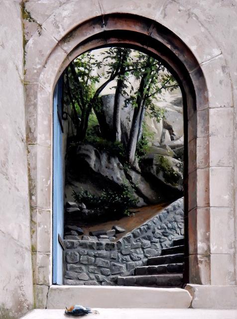 , 'Bellagio Stairs,' 2018, Gallery Victor Armendariz
