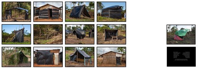 , 'Exercício construtivo para uma guerrilha sem terra,' 2016, Galería Vermelho