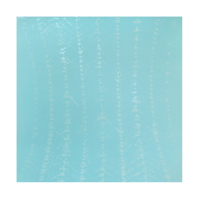 , 'Blue Crochet Ripple,' 2015, Tandem Press