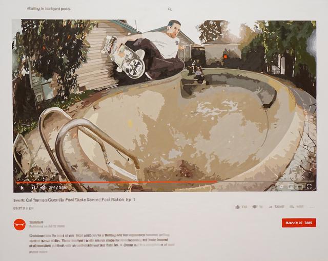 Joeggu Hossmann, 'Skating In Backyard Pools', 2019, Axiom Contemporary