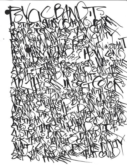 , 'Psycic Bandits (II),' ca. 1972, Anglim Gilbert Gallery