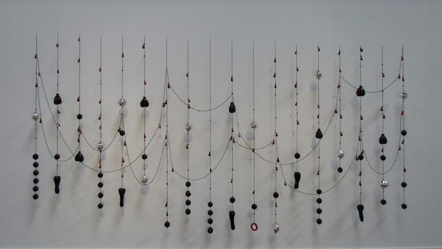 , 'Black hearts, red tears,' 2008, Arsenal Contemporary