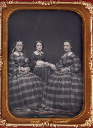 Group of two daguerreotypes