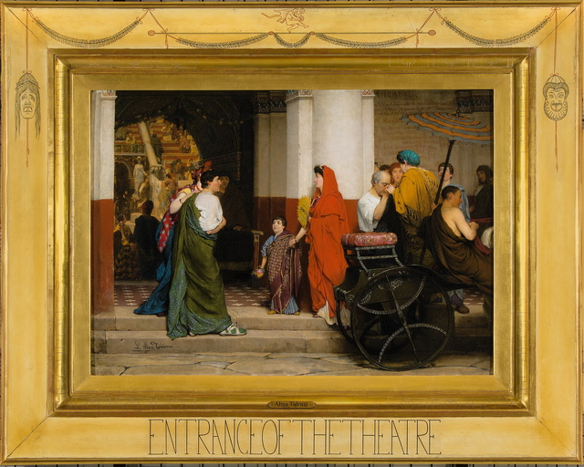 , 'Entrance of the Theatre (Entrance to a Roman Theatre),' 1866, Belvedere Museum