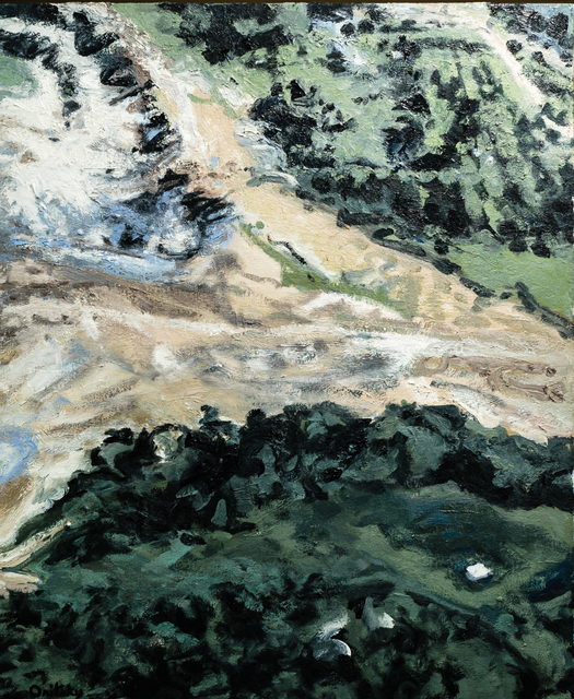 Mimi Oritsky, 'Green Lane #8', 2017, Painting, Oil on linen, Amos Eno Gallery