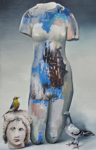 , 'Abstrakte Philosophen XXV (der Weg zur Wahrheit),' 2018, Bode Gallery
