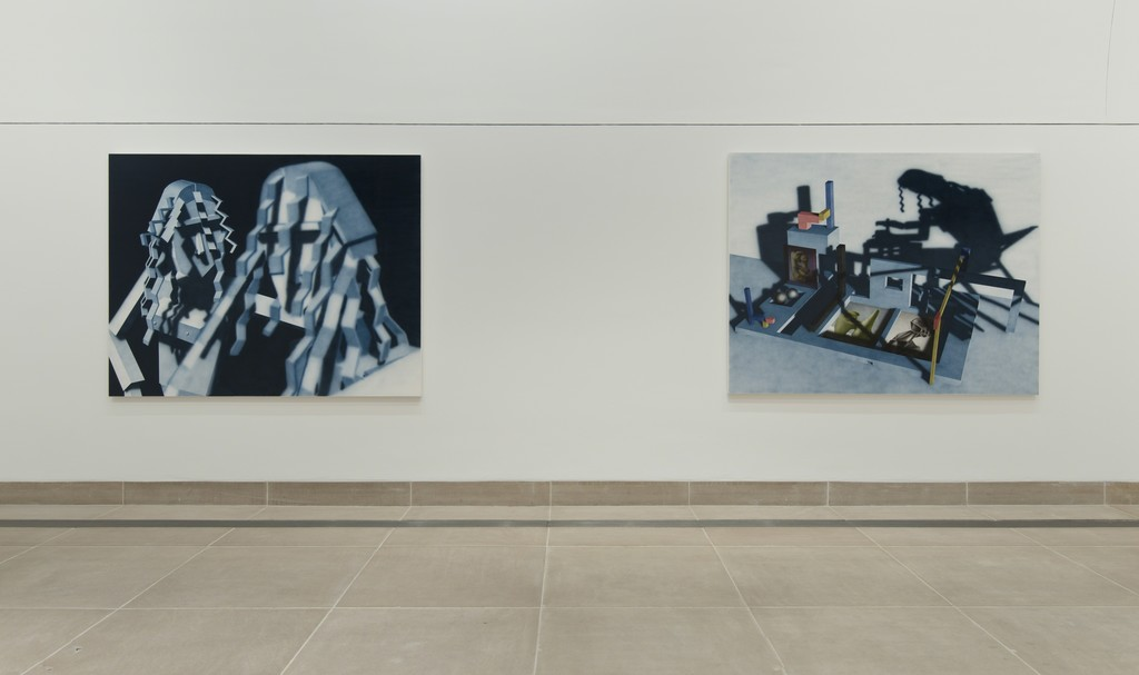 Caption: Installation view of Hammer Projects: Avery Singer. October 6, 2015–January 17, 2016. Hammer Museum, Los Angeles. Photo: Brian Forrest.