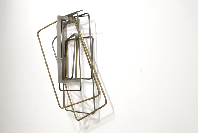 , 'untitled (folding chairs) I,' 2015, Vigo Gallery