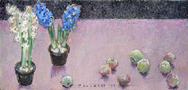 Joseph Plaskett, 'Hyacinth & Apples', 2007, Bau-Xi Gallery
