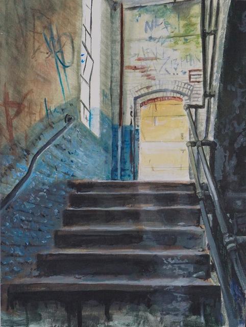 , 'Stairway to...,' 2017, Deep Space Gallery
