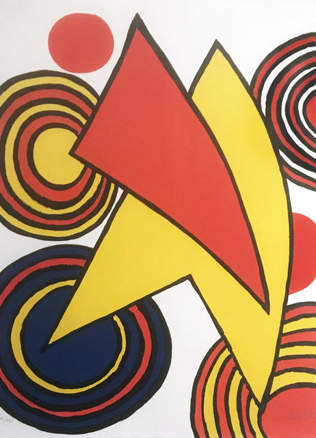 Alexander Calder, 'Untitled, Composition Pour Gallery Maeght', Kings Wood Art