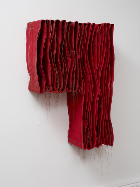 Simon Callery, 'Punctured Red Wallspine', 2017, ALICE BLACK