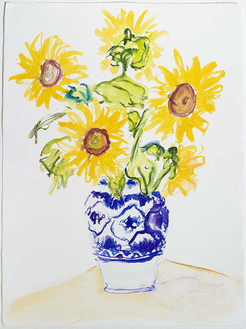 , 'Sunflowers 4, 9/2/10,' 2010, Freymond-Guth Fine Arts Ltd.