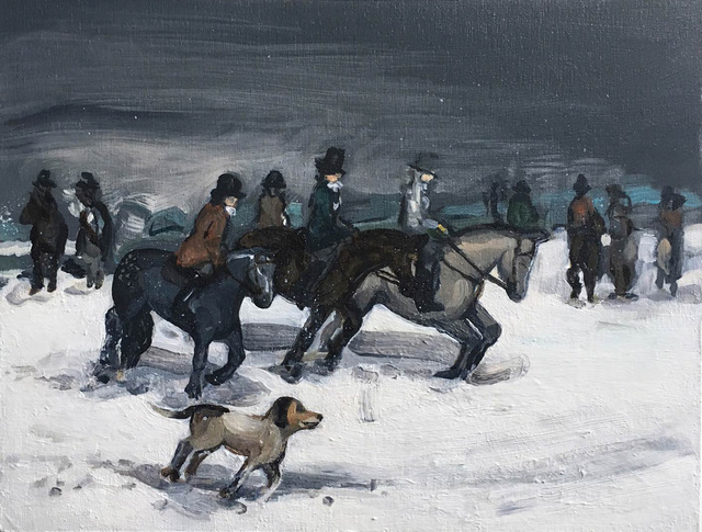, 'Winter Hunt III,' 2017, Sears-Peyton Gallery