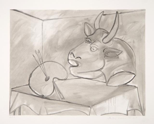 Pablo Picasso, 'Nature Morte a la Palette et la Tête, 1938', 1979-1982, RoGallery