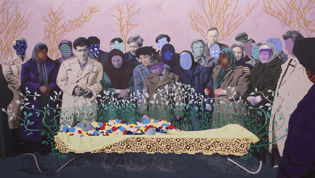 Daisy Patton, 'Untitled ( A Bulgariam Funeral)', 2017, k contemporary