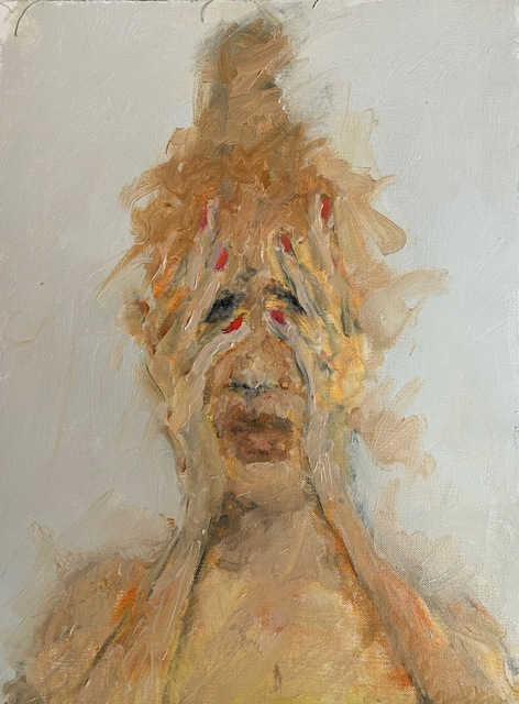 Eva Beresin, 'One of those terrifying moments 2', 2020, Painting, Oil on canvas, Charim Galerie