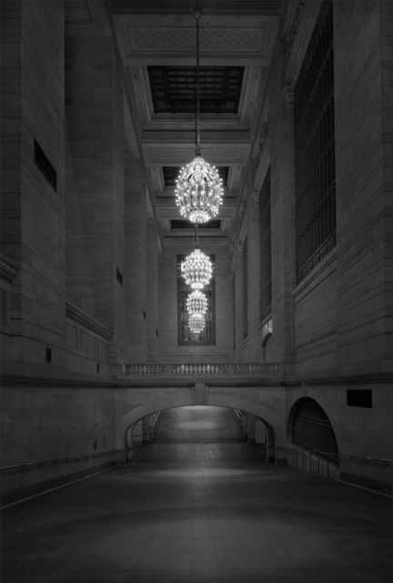 , 'Ditch Light - Grand Central Station Project - 2am Corridor,' 2016, Holden Luntz Gallery