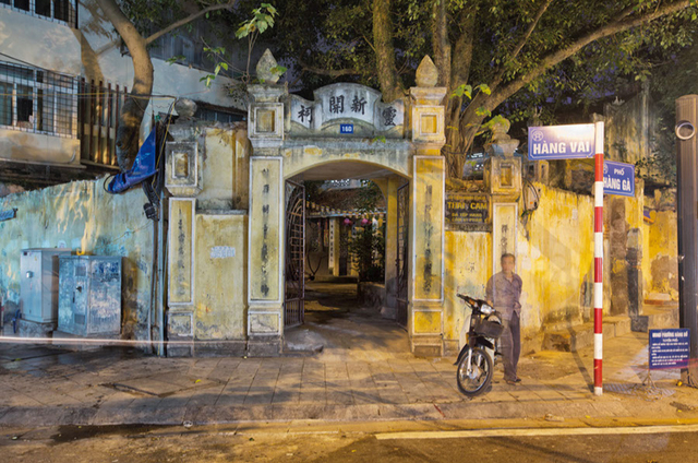, 'Hanoi 18h6h 52 Tan Khai Temple Outside,' 2014, Art Vietnam Gallery