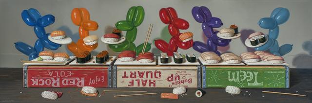 , 'Sushi Buffet,' 2016, Gallery Henoch