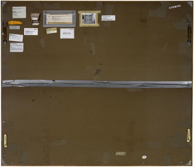 , 'Verso n°25, Stretcher Frame with cross bars III, par Roy Lichtenstein, collection particulière, New York,' 2013, Modernism Inc.