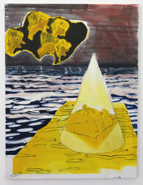 , 'Yellow Mountain,' 2018, Gallery Har-El, Printers & Publishers