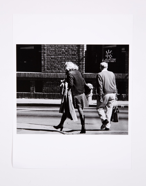 , 'Roberta Walking With Preacher in San Diego, Back View,' 1975, Bridget Donahue