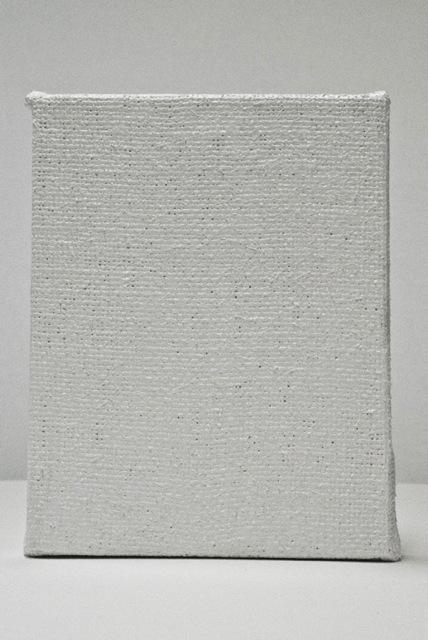 , 'Blank. Cuadro en blanco hecho de pintura blanca maciza,' 2012, Maisterravalbuena
