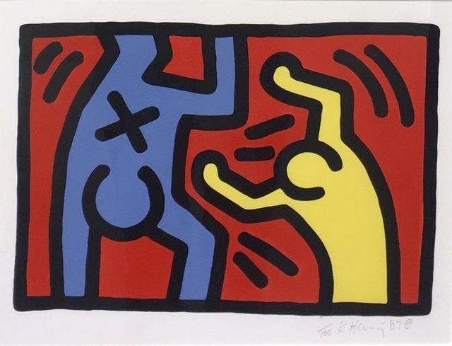 Keith Haring, 'Untitled D', 1987, Kings Wood Art