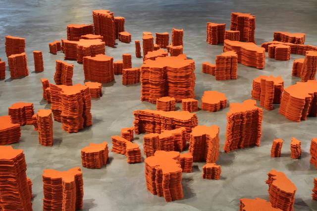 , 'Border,' 2014, Lyla Gallery