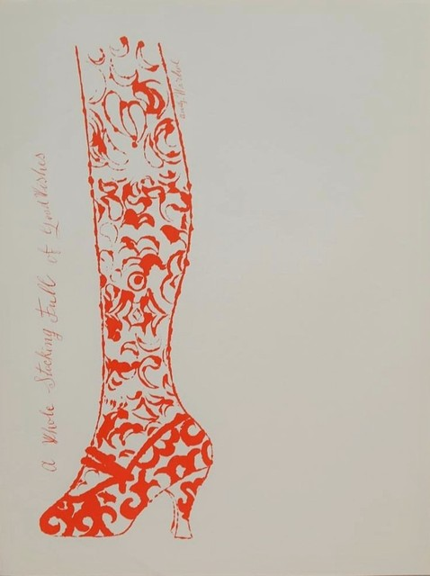 Andy Warhol, 'A Whole Stocking Full  of Good Wishes', 1956, Reuben Colley Fine Art