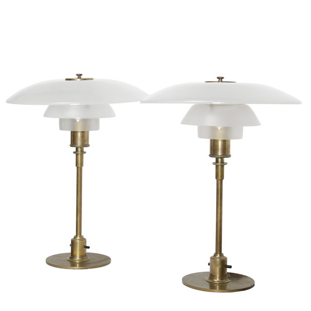, 'Pair of table lamps,' 1927, Dansk Møbelkunst Gallery