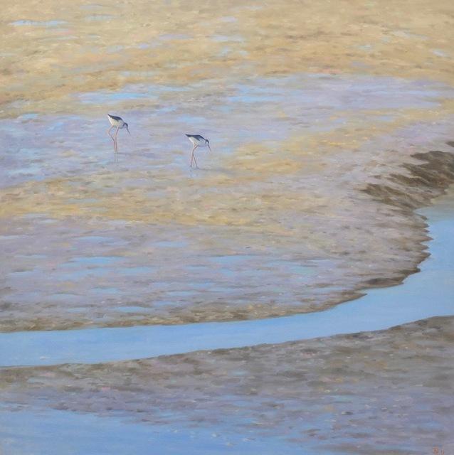 , 'Two Shore Birds ,' 2019, Andra Norris Gallery