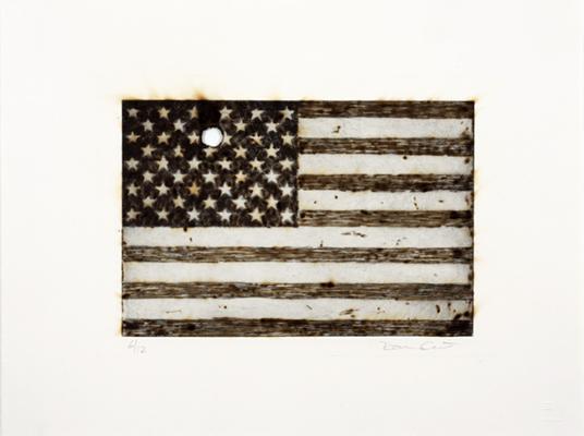 Davide Cantoni, 'American Flag', 2009, 5 + 5 Gallery