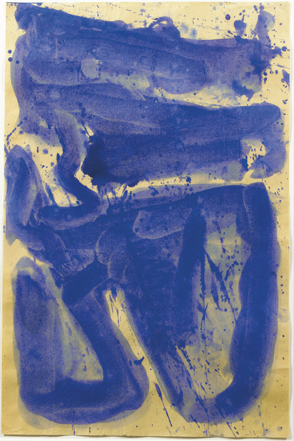 , 'Blue Composition (SF60-1361),' 1960, Omer Tiroche Gallery