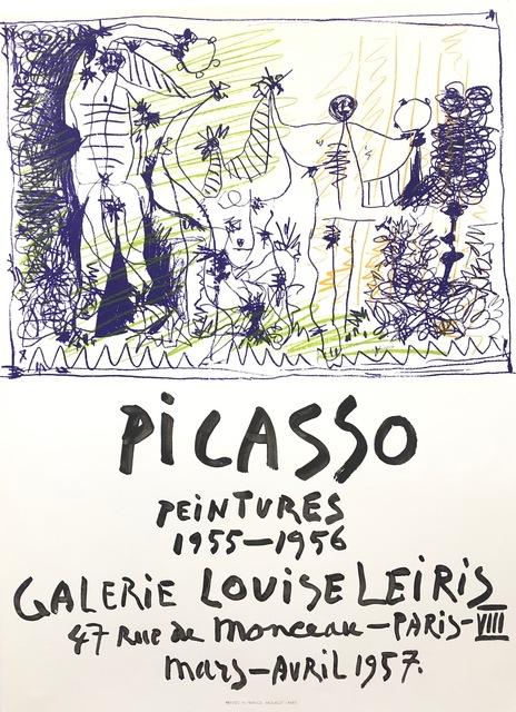 Pablo Picasso, 'Picasso Peintures 1955 - 1956', 1957, Eames Fine Art