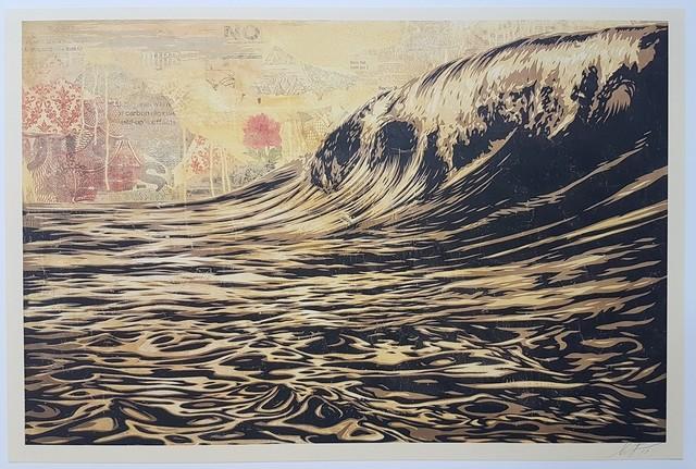 Shepard Fairey, 'Dark Wave', 2017, Cerbera Gallery