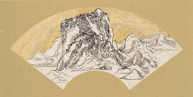 , 'Gold Mountain Silver Water - A Sunny Day after the it Snowed 書金山銀水-雪霽紅日,' 2015, Alisan Fine Arts