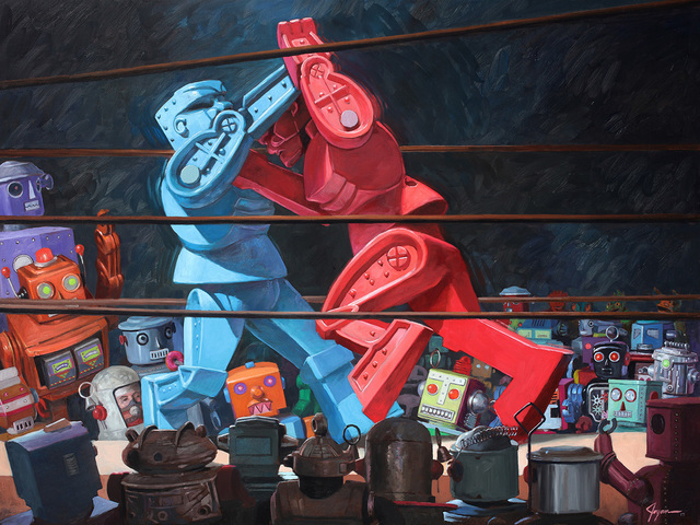 , 'The Final Round,' , Corey Helford Gallery