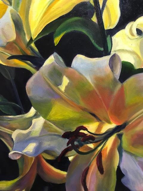 Sophie Frieda, 'Afternoon Lilies', 2018, Carrie Goller Gallery
