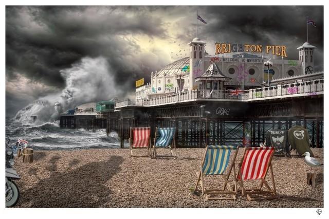 JJ Adams, 'Brighton Pier', 2015, Reem Gallery