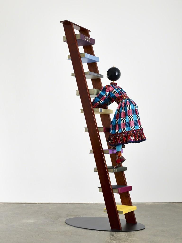 Yinka Shonibare MBE, 'Magic Ladder Kid IV,' 2014, James Cohan