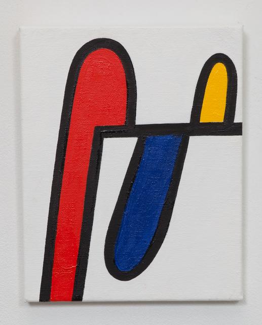 Andrew Masullo, '5799', 2013-2014, Painting, Oil on canvas, Philip Slein Gallery