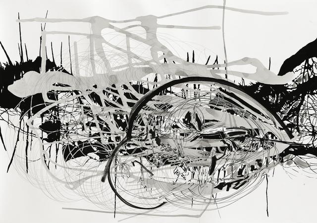 , 'Rifts of Absence 11,' 2010, Galerie Nikolaus Ruzicska