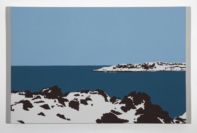 , 'Big Duck Island 2,' 2014, Christina Parker Gallery