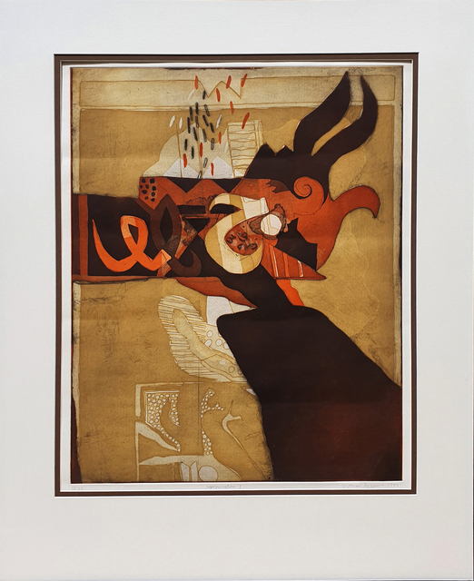 Dia Azzawi, 'Improvisation', 1984, Q0DE